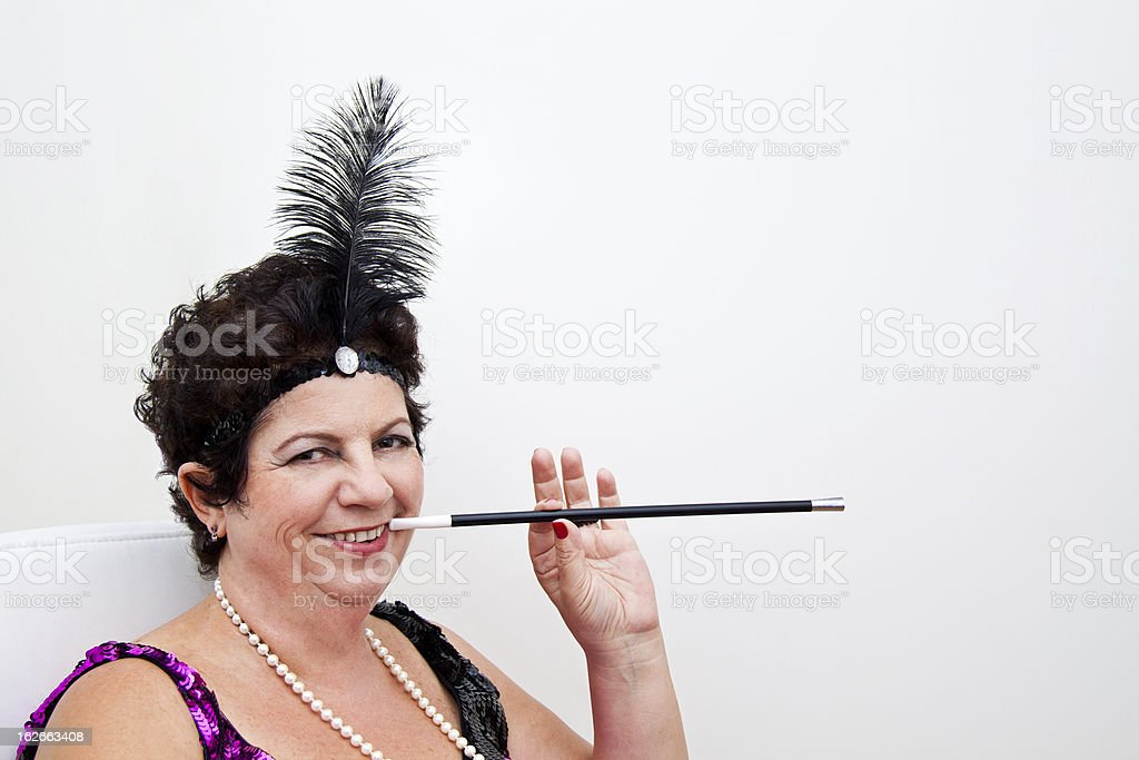 CanCan good times royalty-free stock photo