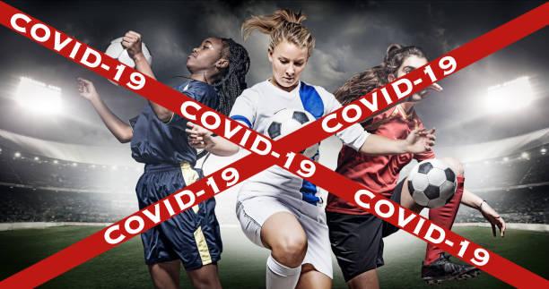 Abgesagter Fußball und Fußball – Foto