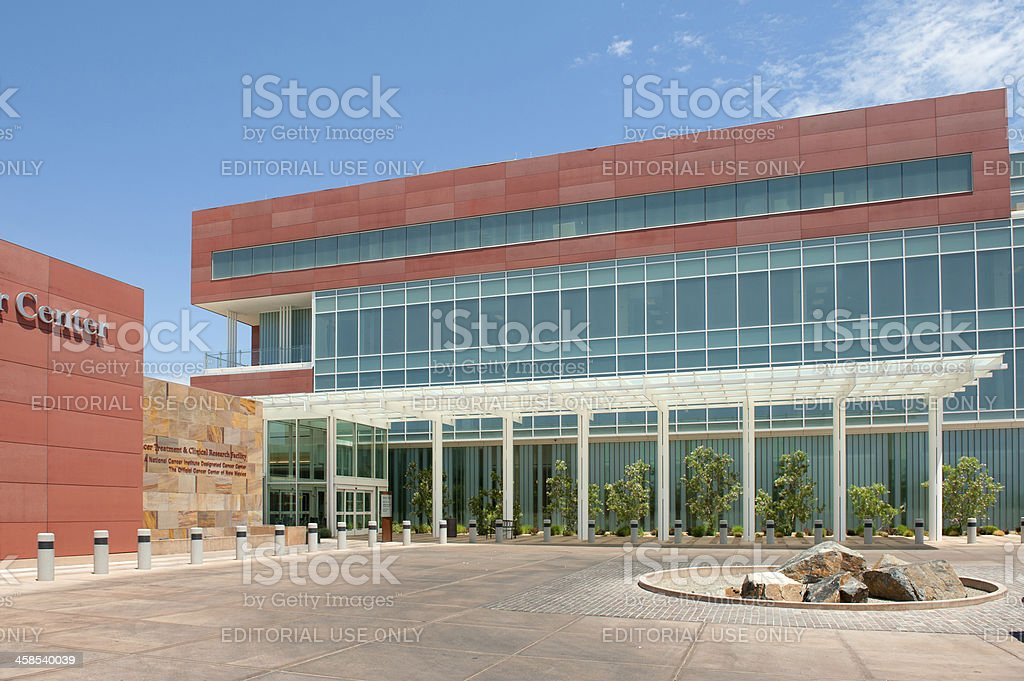 Cancer Center royalty-free stock photo