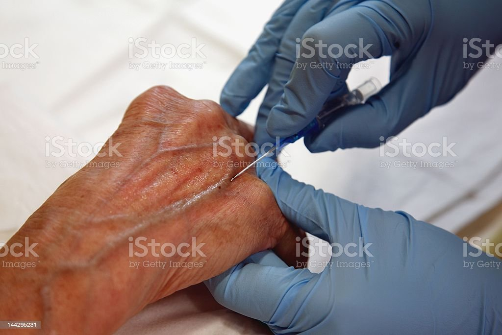 cancer chemotherapy royalty-free stock photo
