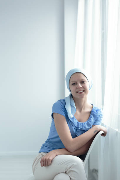 cancer patient smiling - cue ball stock pictures, royalty-free photos & images