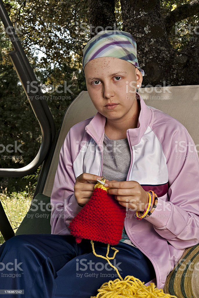 Cancer stock photo