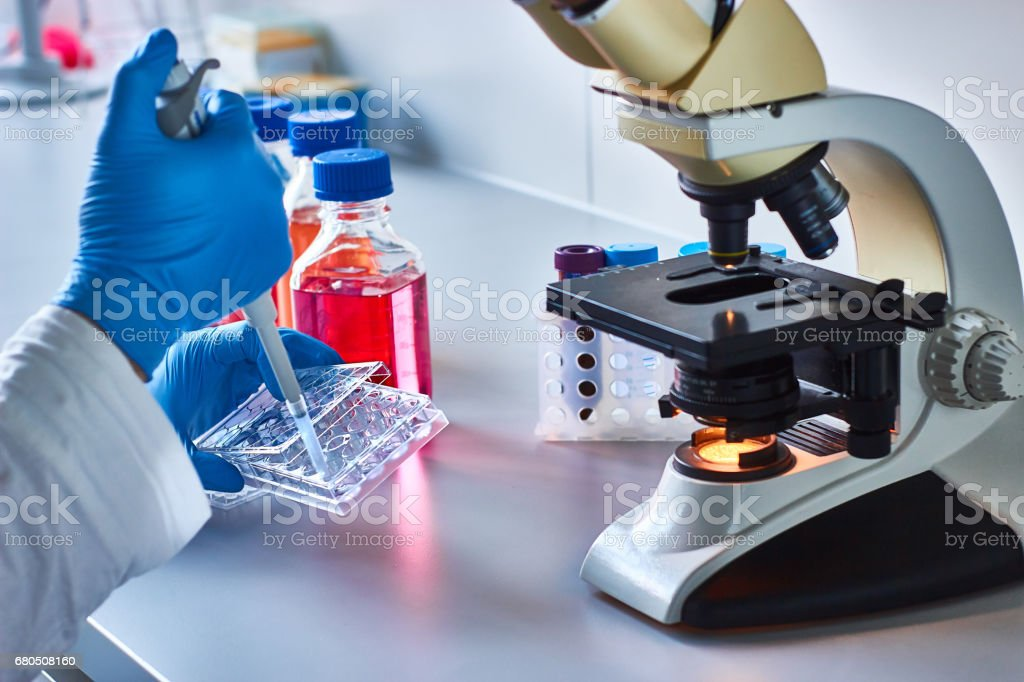 Cancer research - foto de stock