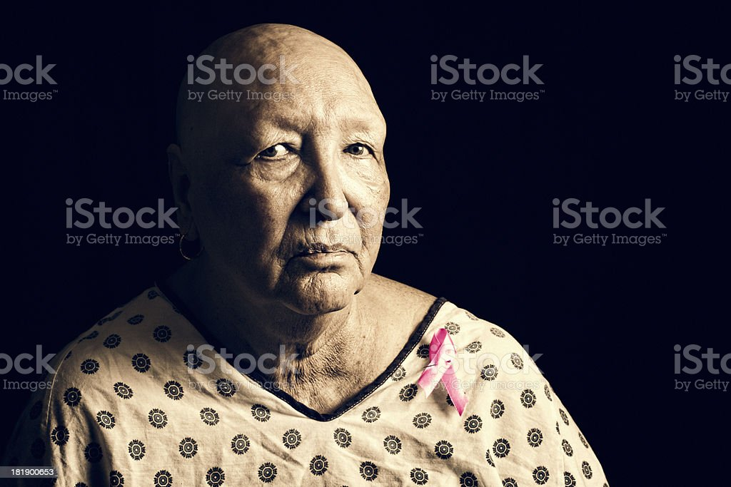 Cancer Survivor stock photo