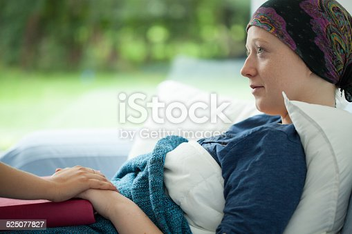 istock Cancer woman 525077827