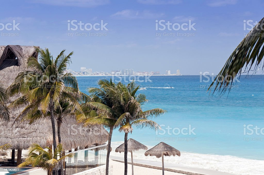 Cancun stock photo