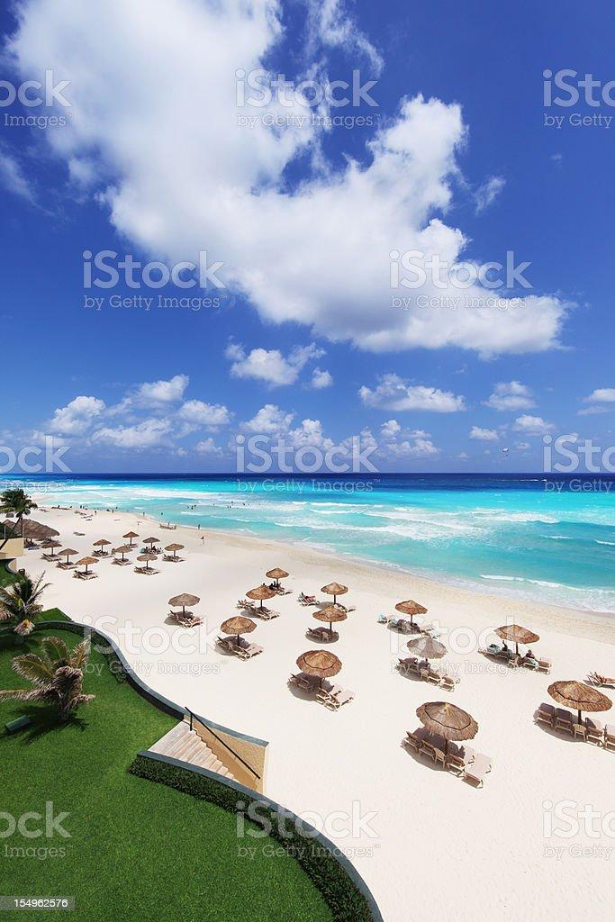 Cancun Resort stock photo