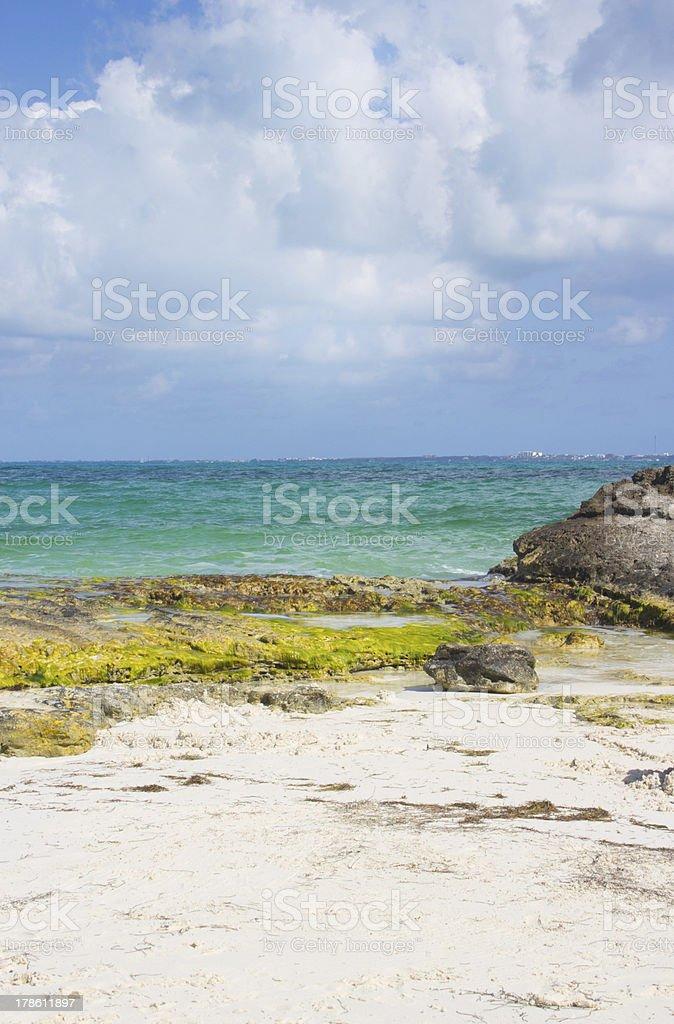 Cancun Vacation Beach stock photo