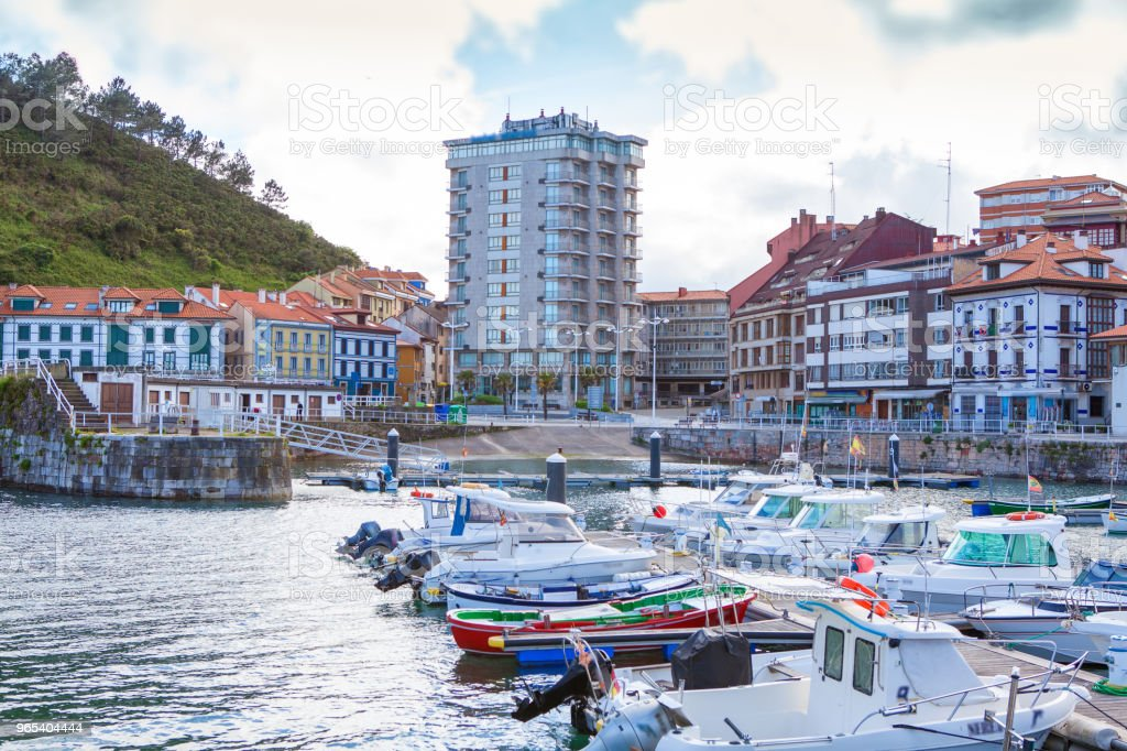 Candas. Asturias. Spain royalty-free stock photo