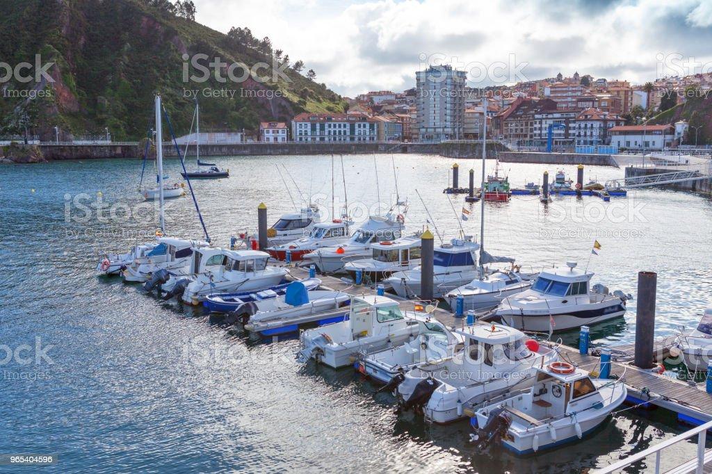 Candas. Asturias. Spain royalty-free stock photo