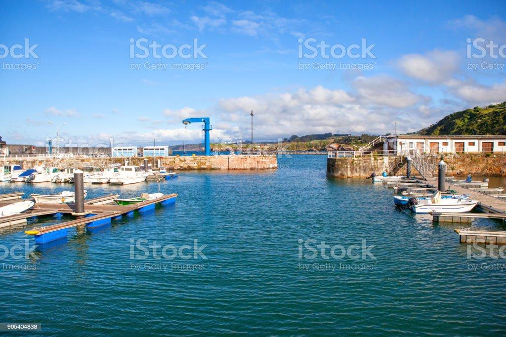 Candas. Asturien. Spanien - Lizenzfrei Asturien Stock-Foto