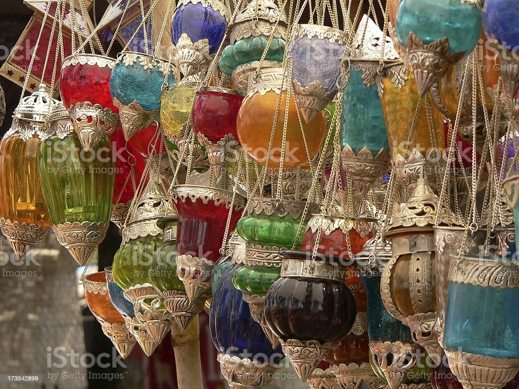 candel stands royalty-free stock photo