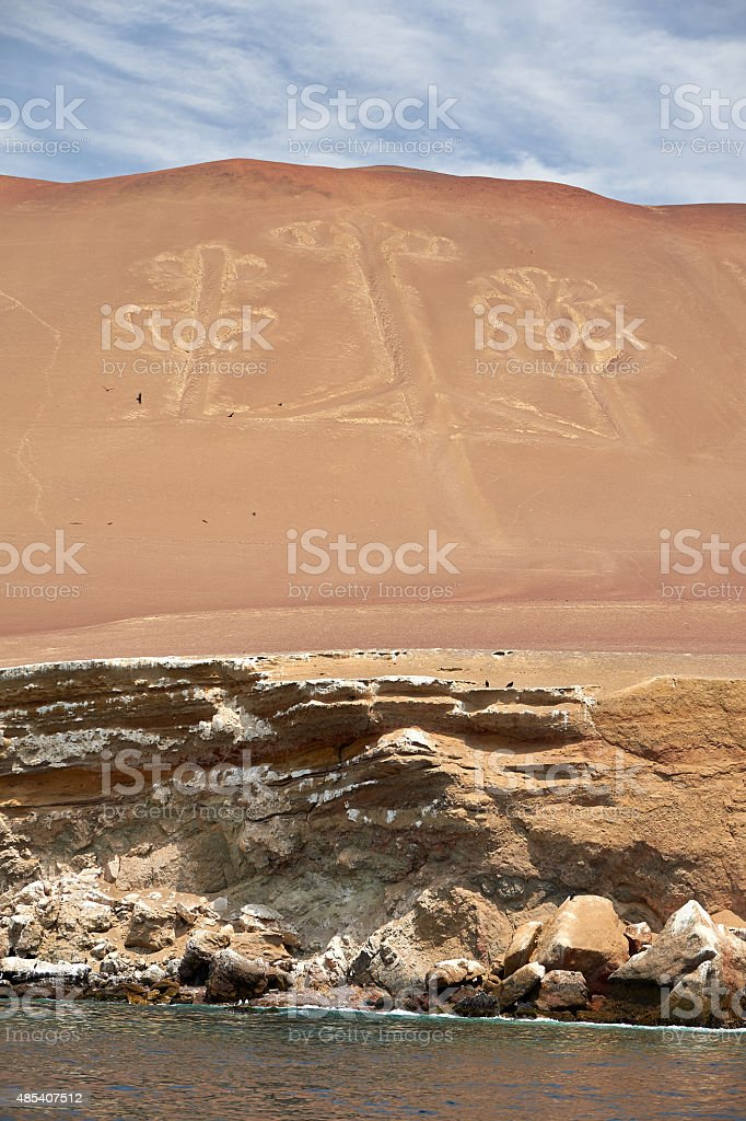 Candelabra of the Andes stock photo