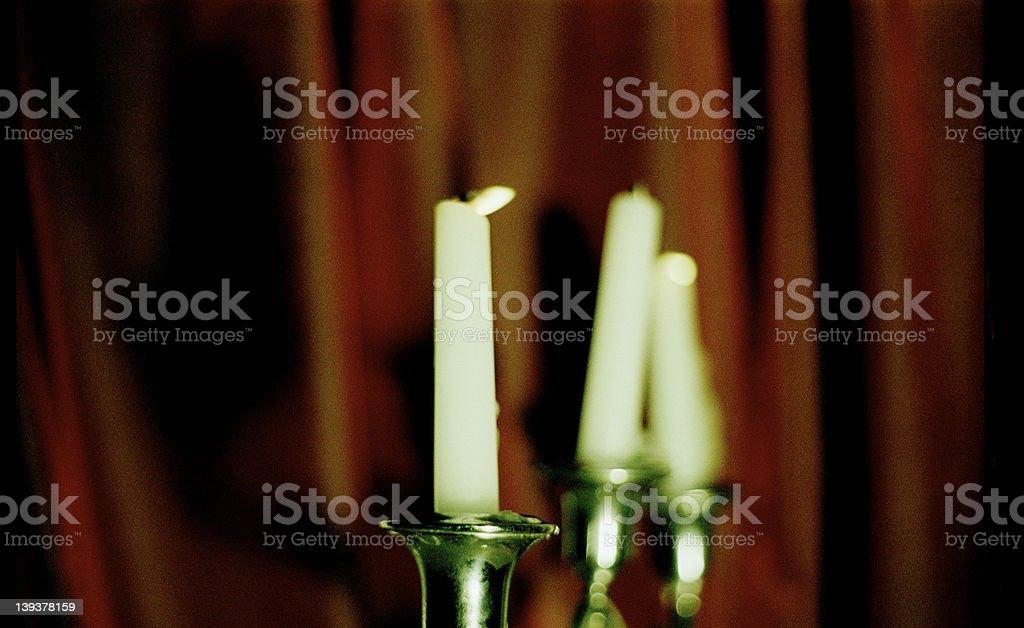 candelabra stock photo