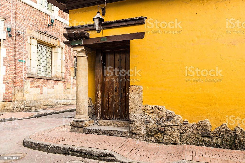 Candelaria in Bogota, Colombia stock photo