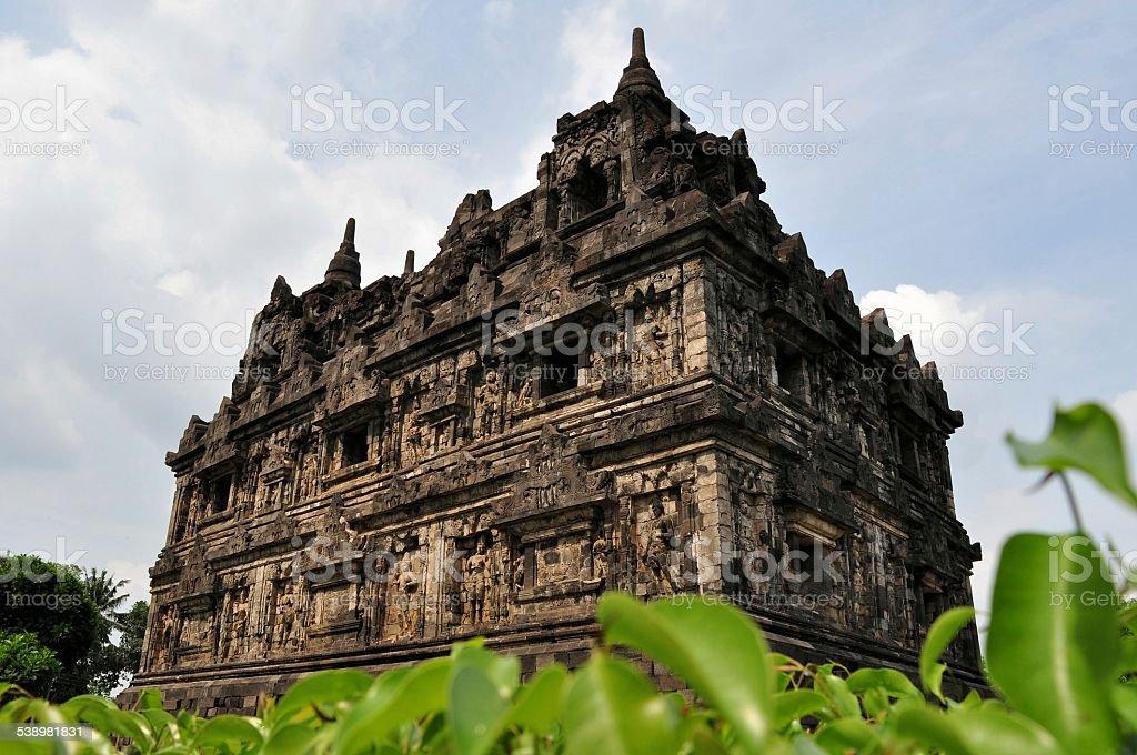 Candi Sari Buddhist temple Yogyakarta, Indonesia stock photo