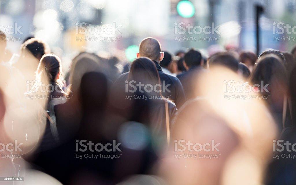 Offene Geschäft Pendler-Menschen – Foto
