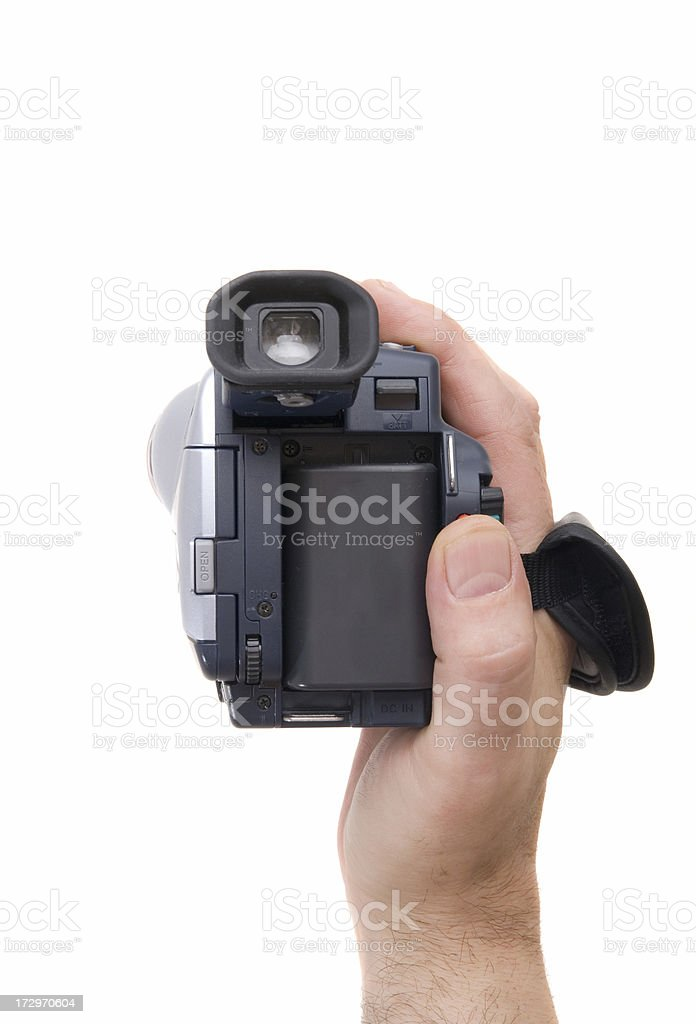 Candid camera royalty-free stock photo