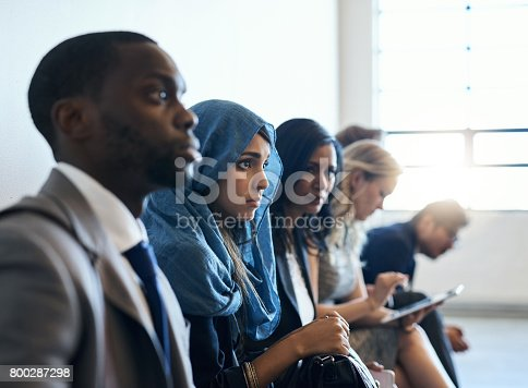 istock Candidates from all walks of life 800287298