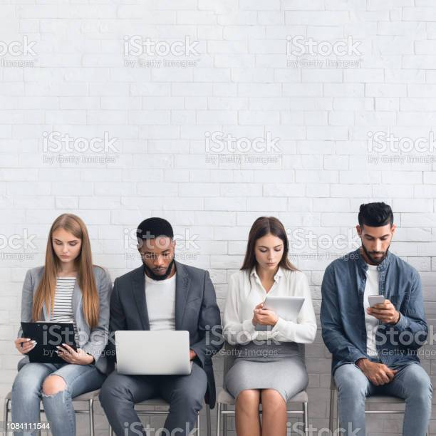 Candidates waiting for job interviews sitting in row picture id1084111544?b=1&k=6&m=1084111544&s=612x612&h=wmon8wlz8ilgi7mhda5wqku9kaea3rklsenkjwbq064=