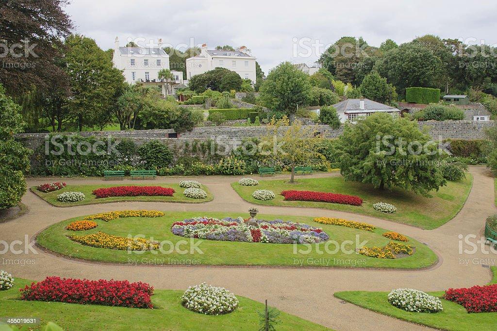 Candie Gardens stock photo