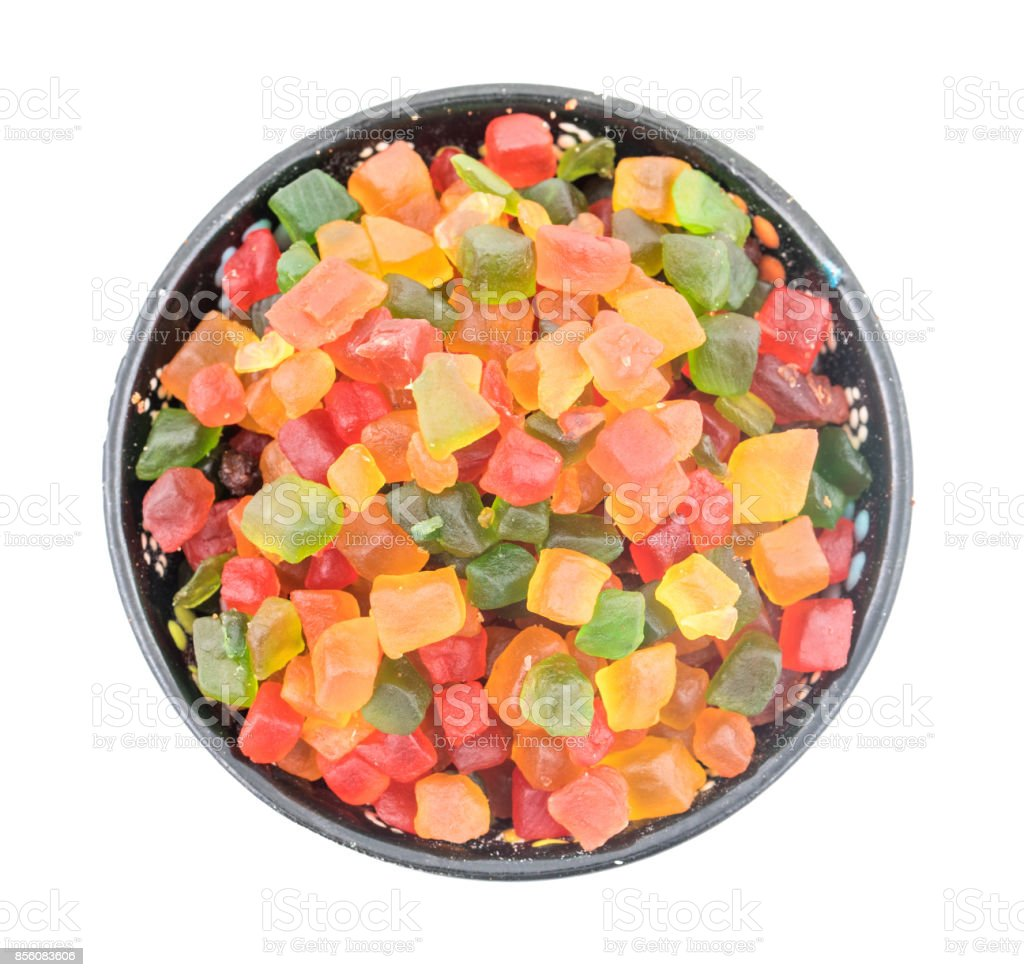 Candied Fruit stock photo
