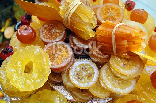 Candied fruits are typical for Avignon, a city in the Provence region in France.
