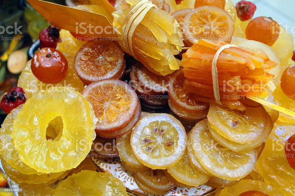 Confit de fruits - Photo