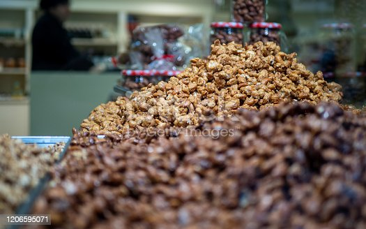Candied Nuts and Sweets in Spain