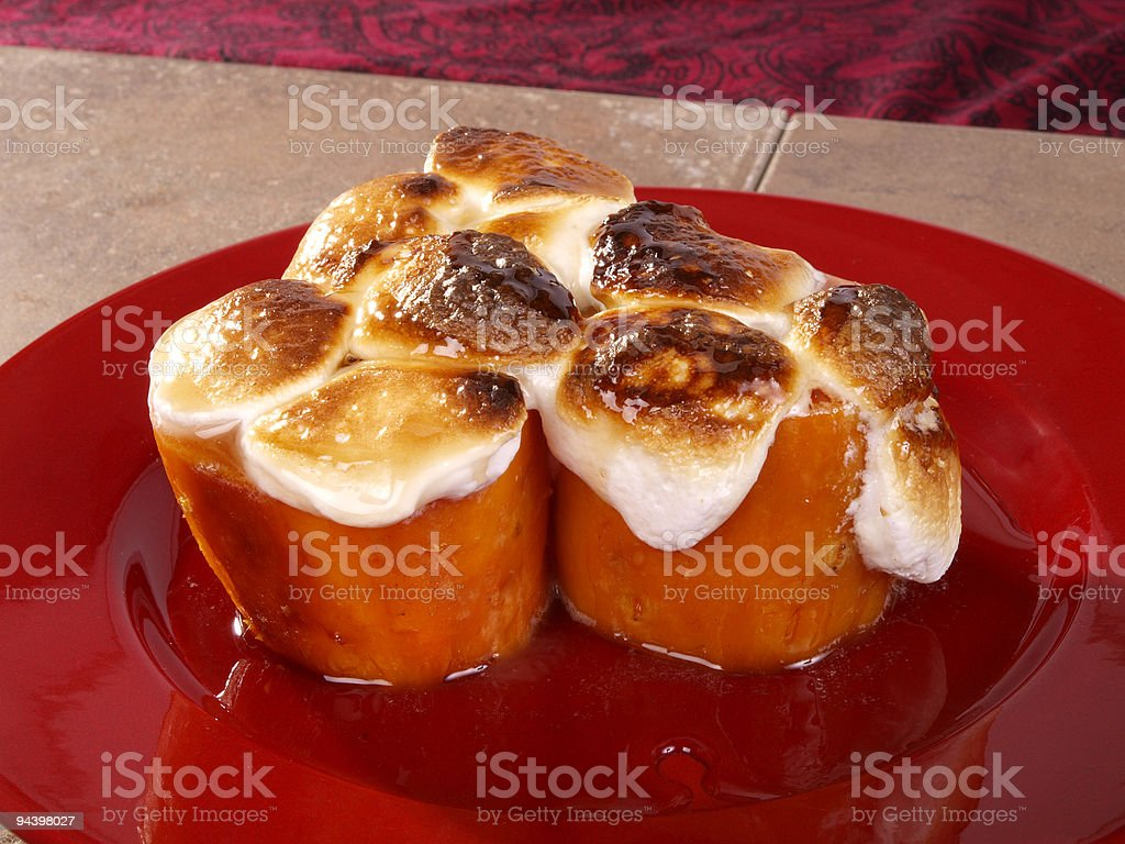 Candied Yams royalty-free stock photo