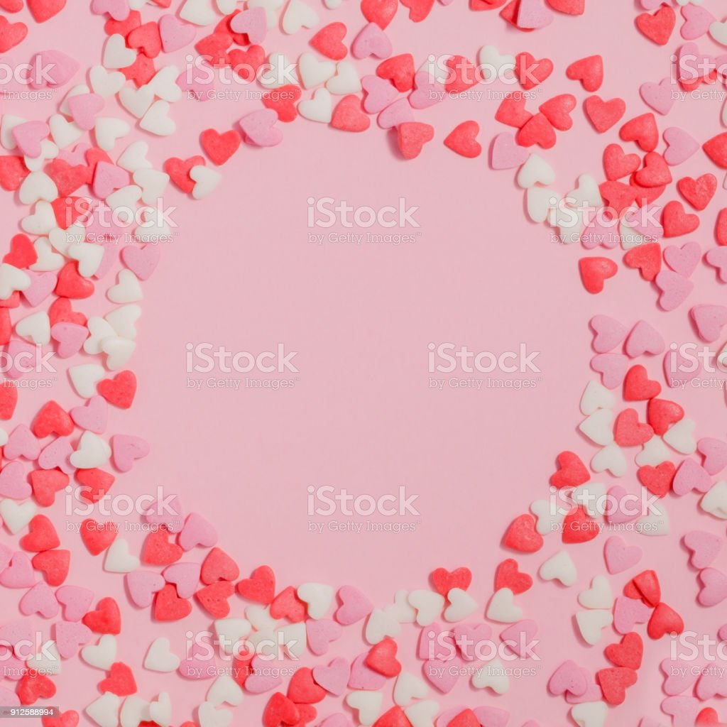 Royalty Free Heart Shape Candy Wallpaper Pattern No People Pictures