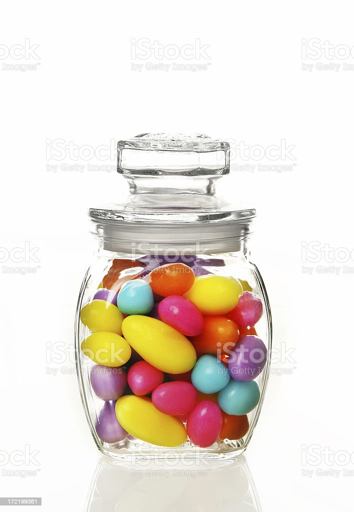 Candies in a Jar royalty-free stock photo