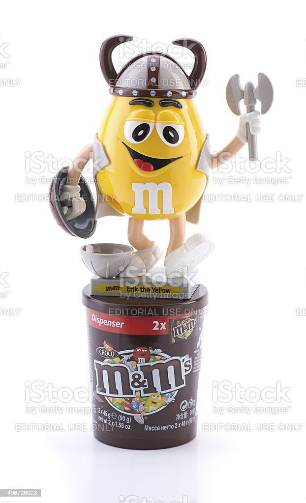 M&M Candies royalty-free stock photo