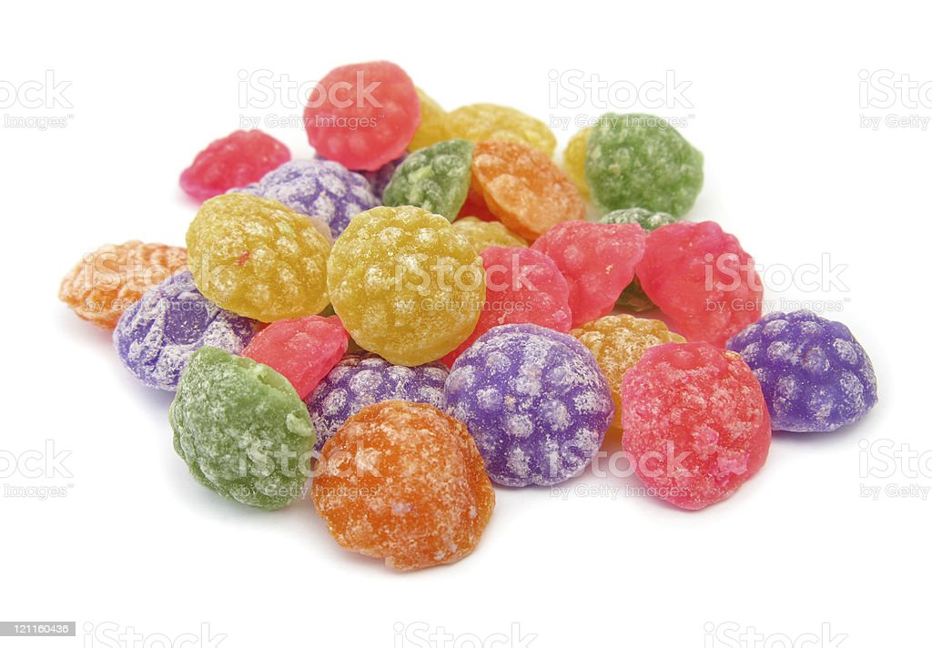 Candies sweets hard royalty-free stock photo