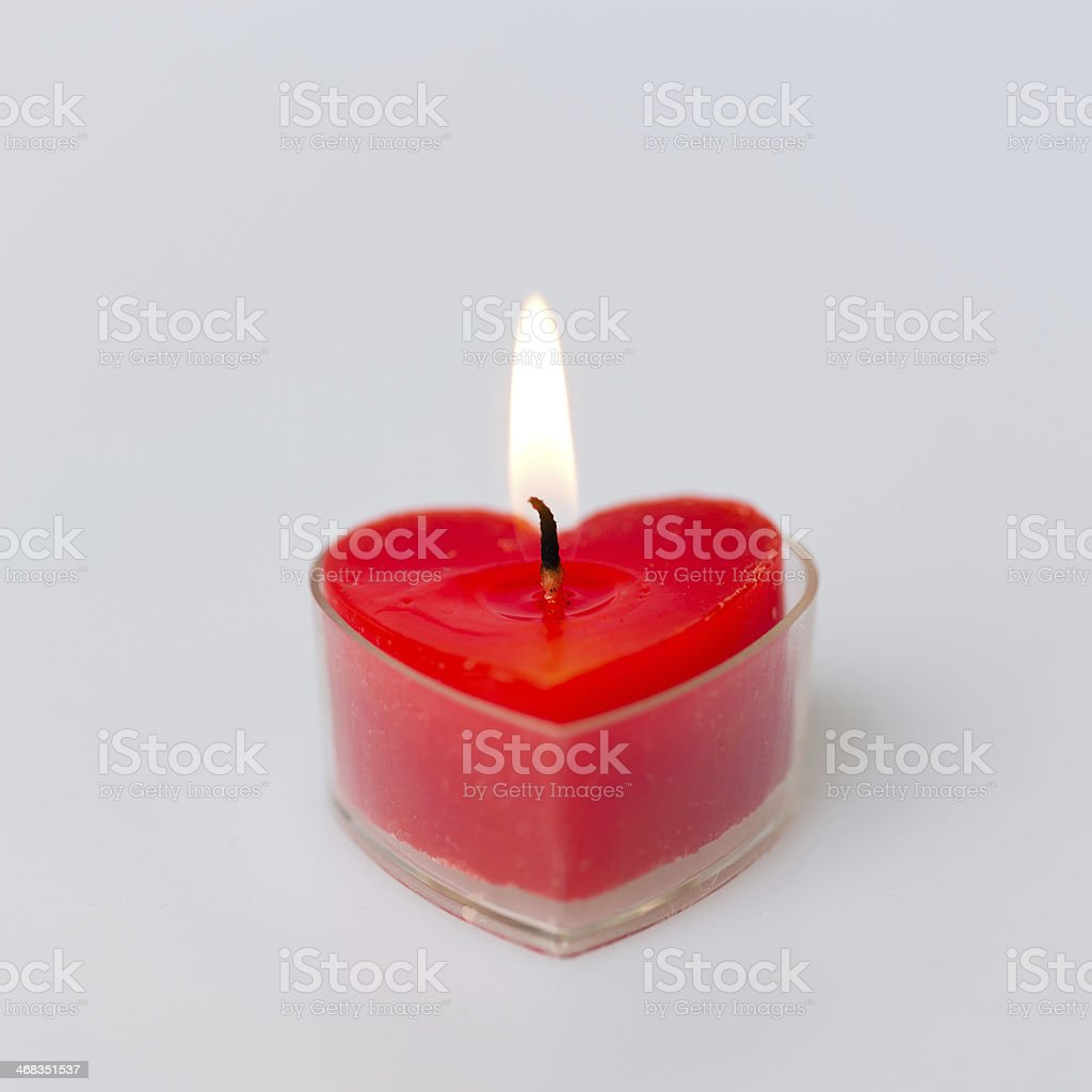 candle burning royalty-free stock photo