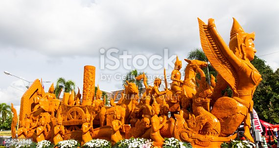 istock Candle festival 584234948