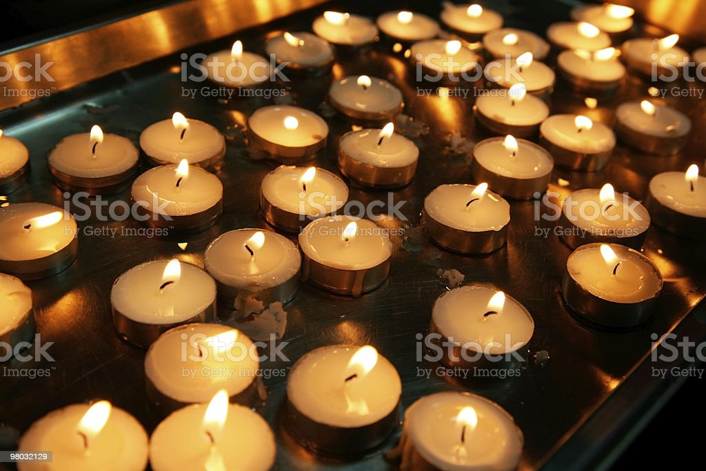 Candle group - backgrounds royalty-free stock photo