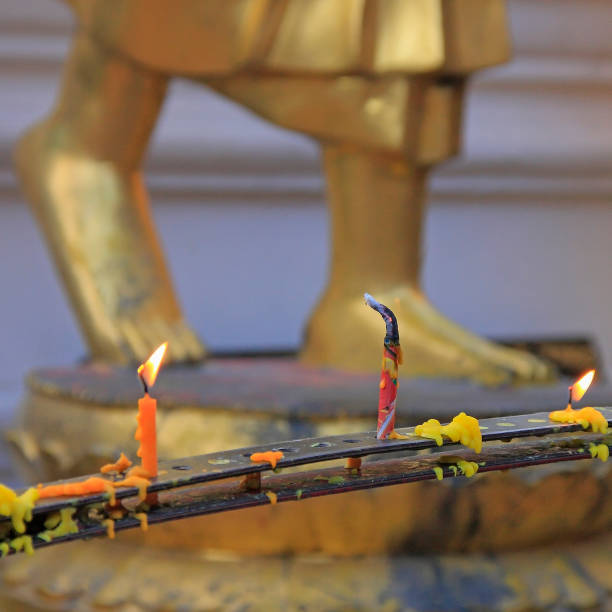 Candle in temple
