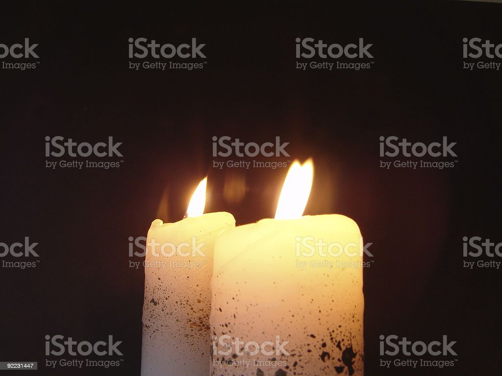 Candle Light stock photo