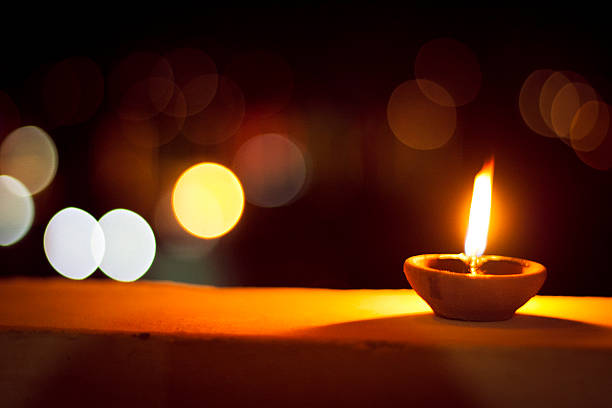 candle - diwali stock pictures, royalty-free photos & images