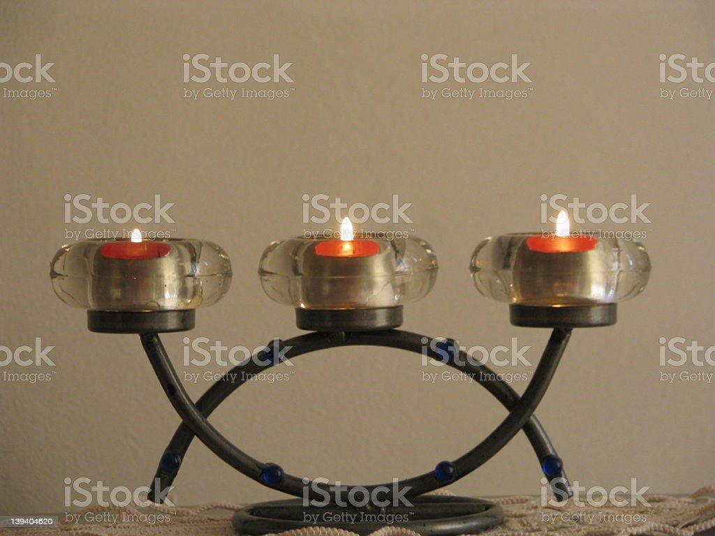 candleholder royalty-free stock photo