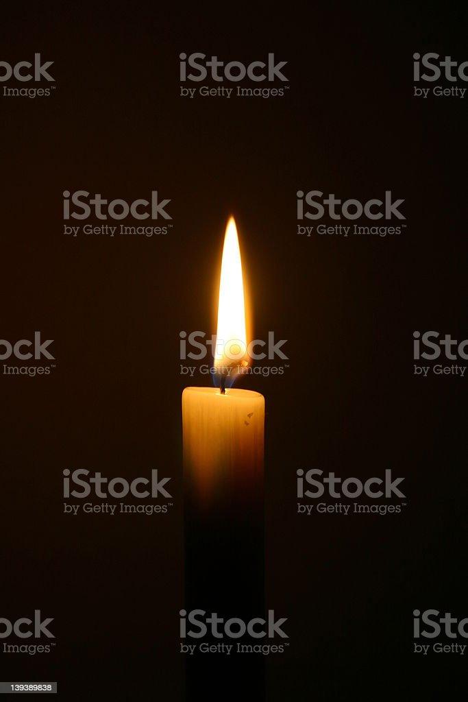 キャンドルの灯り ロイヤリティフリーストックフォト