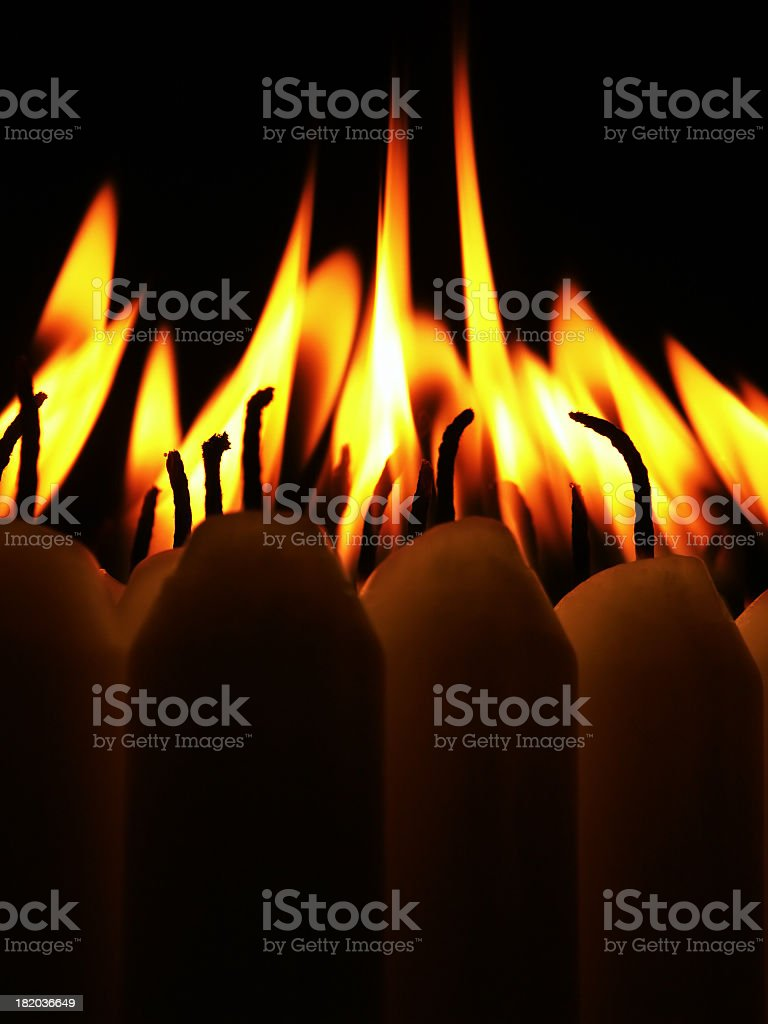candles 2 stock photo