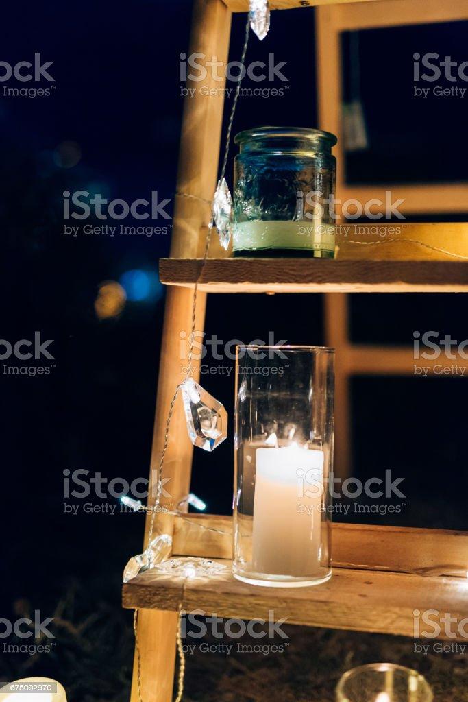 Kerzen Im Glaslampen Hochzeitsdekorationen Hochzeit In Monteneg