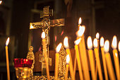 Candles in Kazan Cathedral