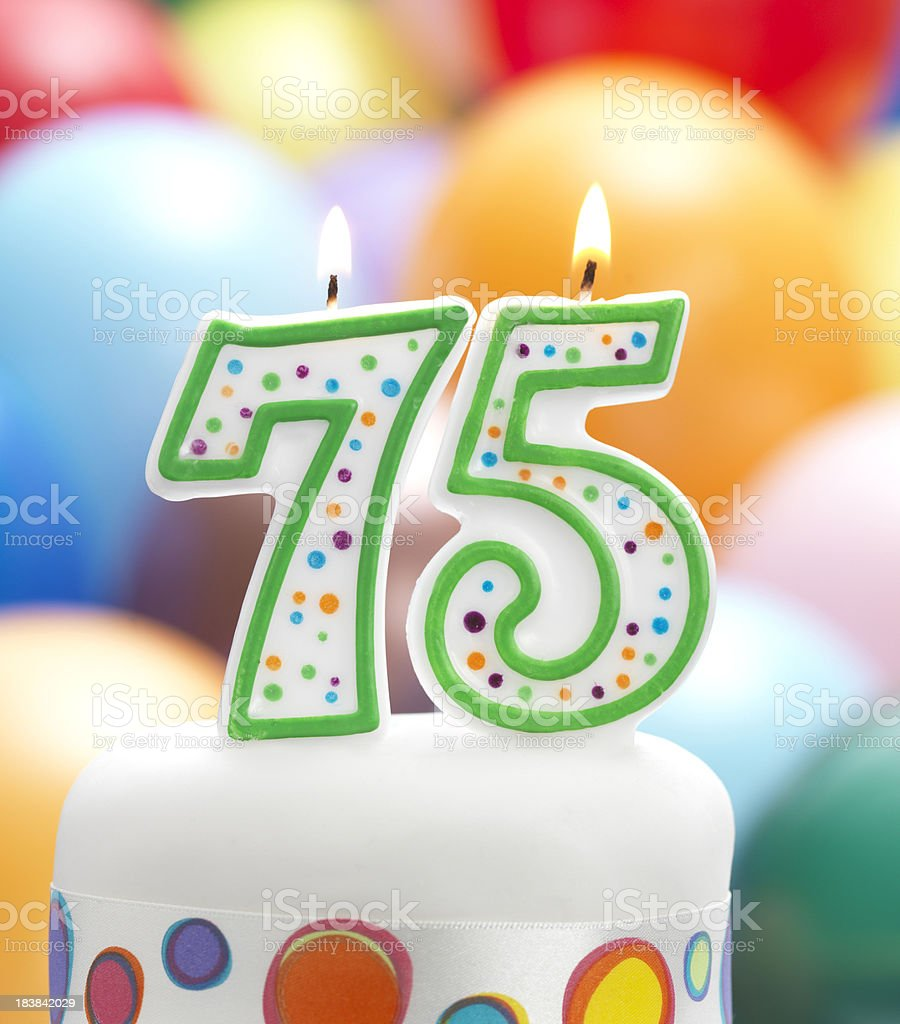 Candles Making 75 Years