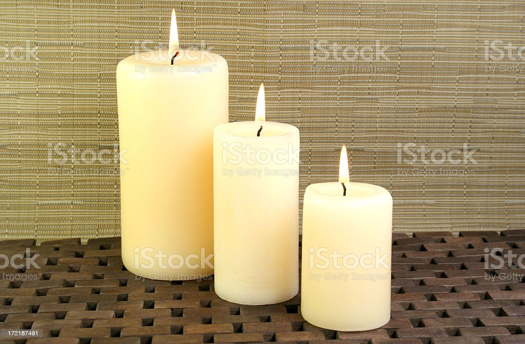 candles - Royalty-free Aromatherapy Stock Photo