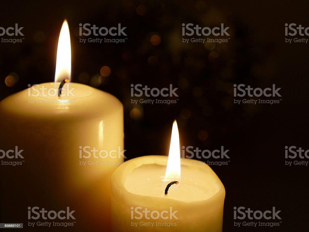 Свечи Стоковые фото Стоковая фотография