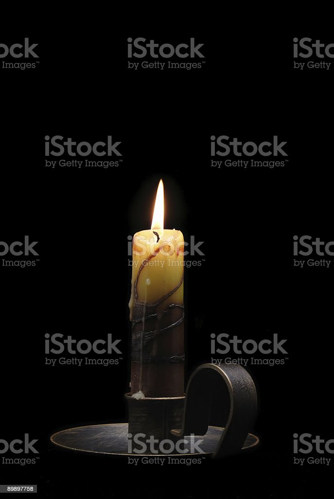 Candles #1 royalty-free stock photo