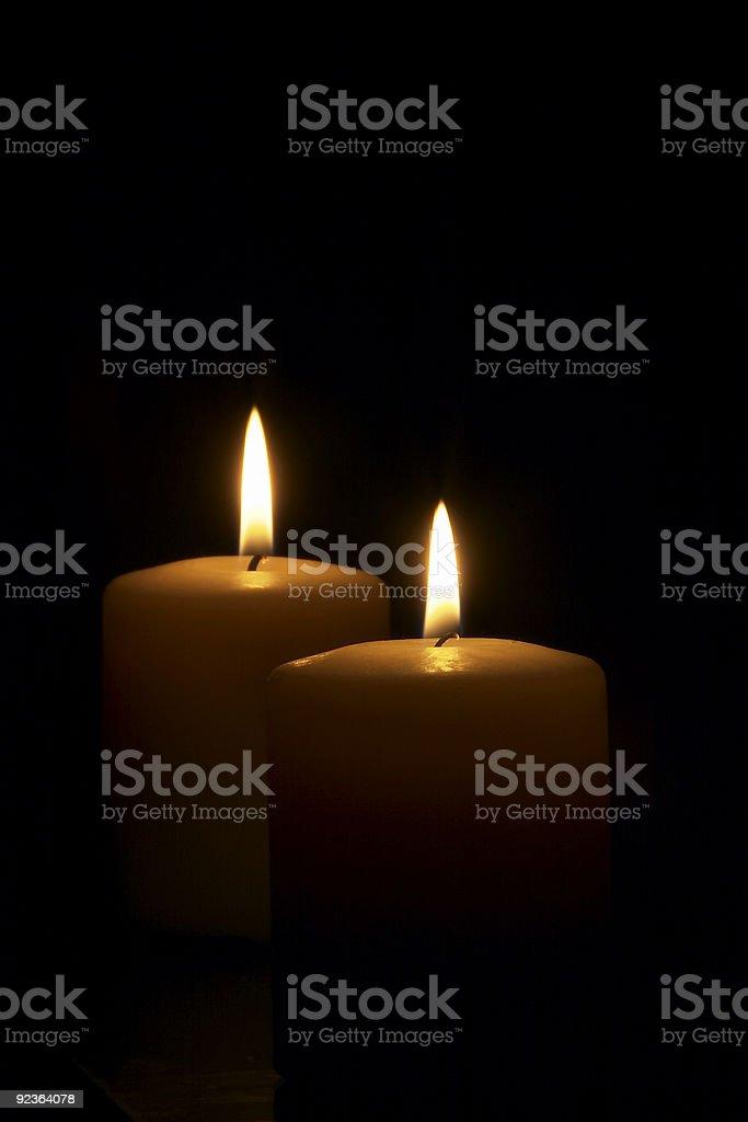 Kerzen Lizenzfreies stock-foto